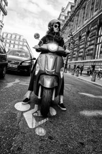 Parisina motorizada